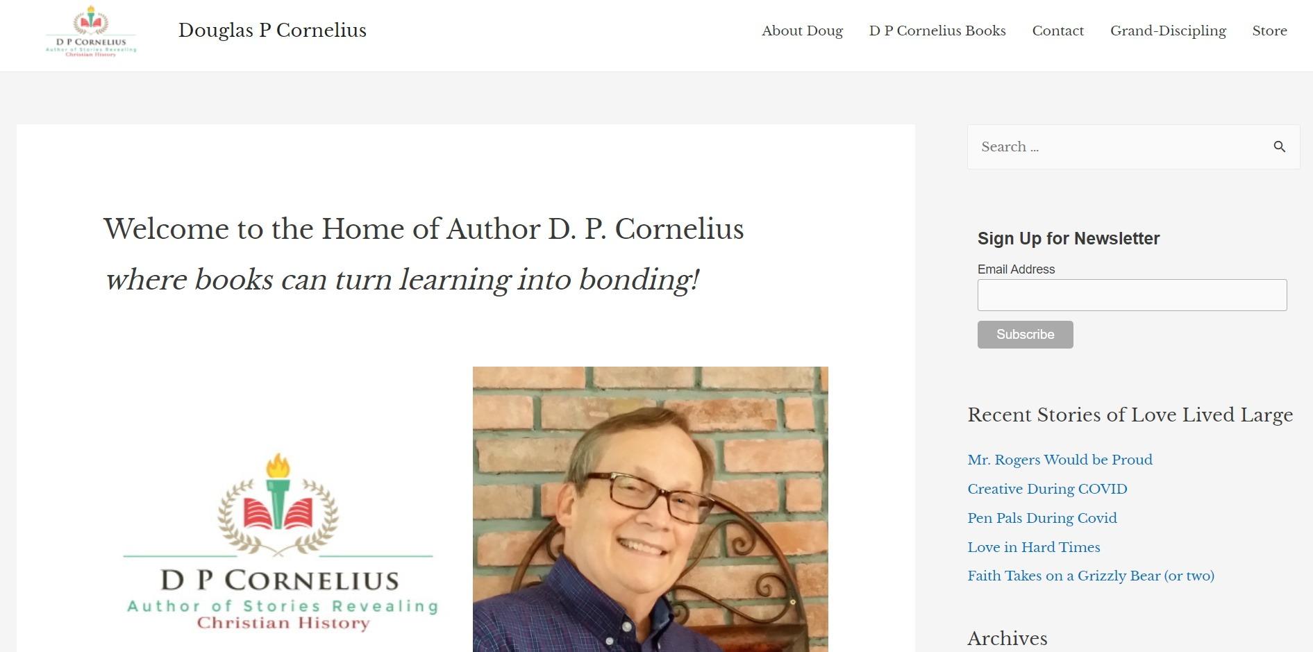 Author D P Cornelius